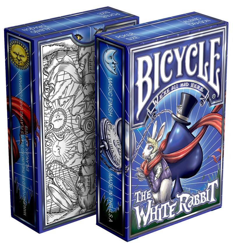 Bicycle Playing Cards: White Rabbit