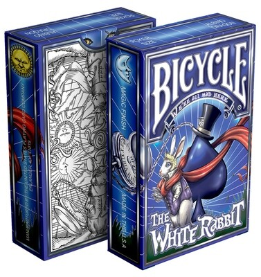 Bicycle Playing Cards: White Rabbit