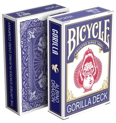 Bicycle Playing Cards: Gorilla Deck (Harambe)