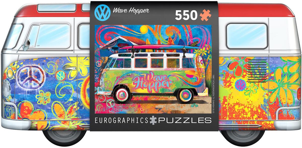 VW Bus Tin - Wave Hopper