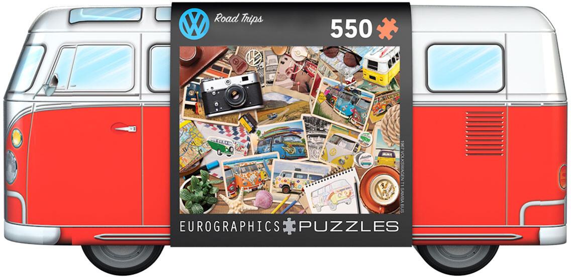 VW Bus Tin - Road Trips