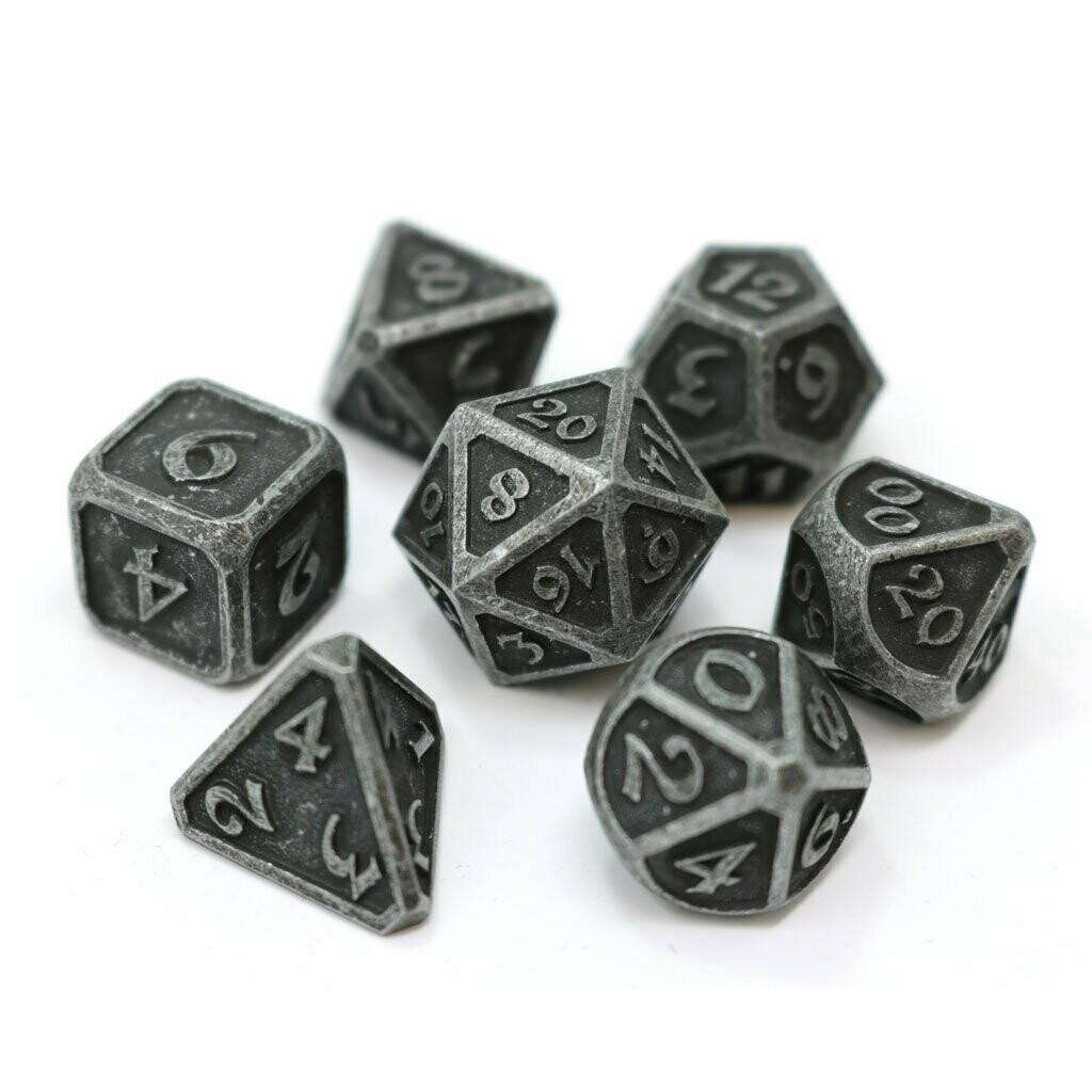 7 Die Metal Set: Mythica Dark Iron