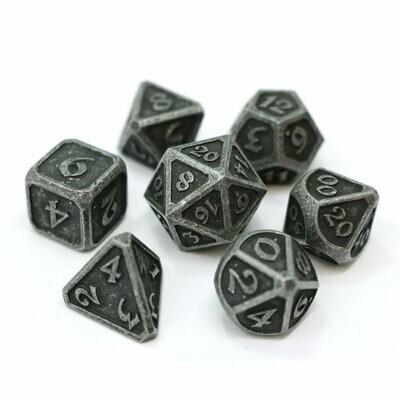 7 Die Metal Set: Mythica Dark Iron