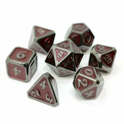 7 Die Metal Set: Mythica Sinister Ruby