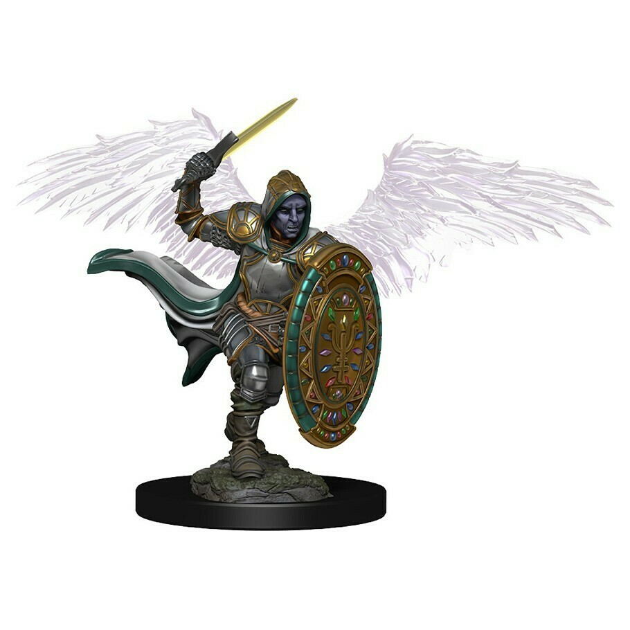 Icons of the Realm Premium: Aasimar Male Paladin