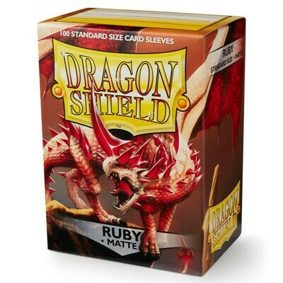 SLV: Dragon Shield Matte Ruby (100)