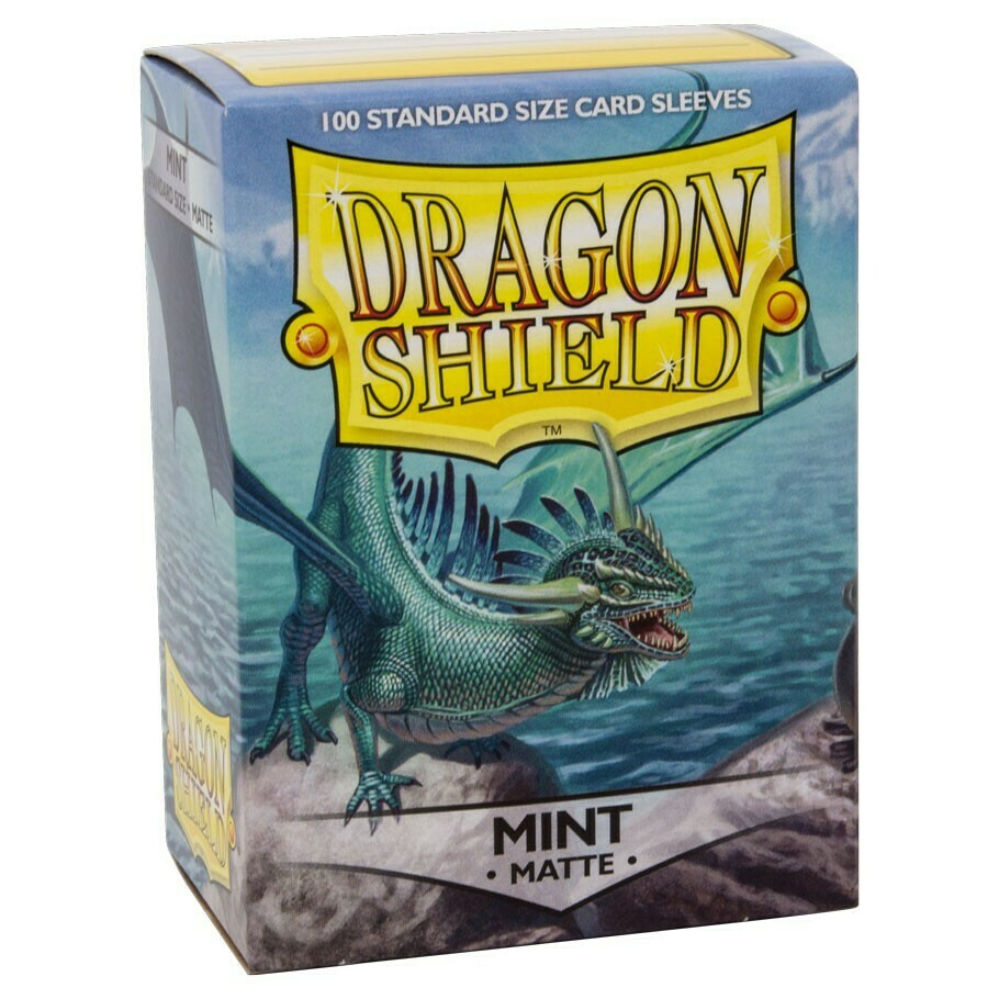 SLV: Dragon Shield Matte Mint (100)