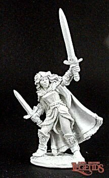 Aisha, Female Warrior
