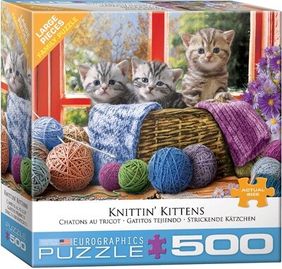 Knittin' Kittens