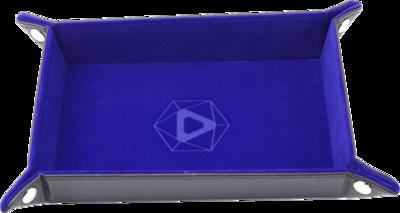 Die Hard Dice Tray Rectangular with Blue Velvet