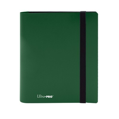 Binder: Ultra Pro: 4 Pocket Eclipse Forest Green