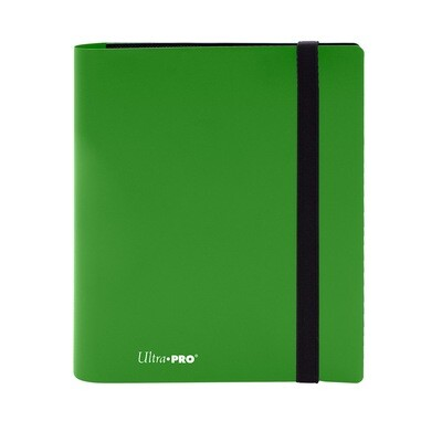 Binder: Ultra Pro: 4 Pocket Eclipse Lime Green