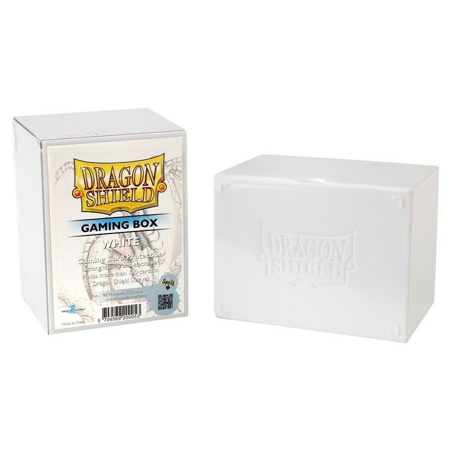 Deck Box: Dragon Shield: Gaming Box White
