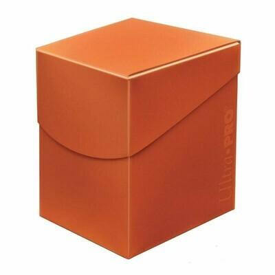 Deck Box: Pro 100+: Eclipse: Pumpkin Orange