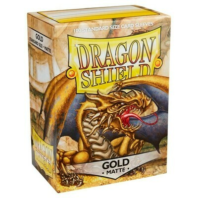 SLV: Dragon Shield Matte Gold (100)