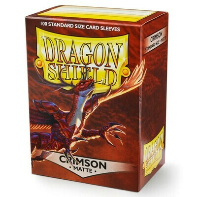 SLV: Dragon Shield Matte Crimson (100)