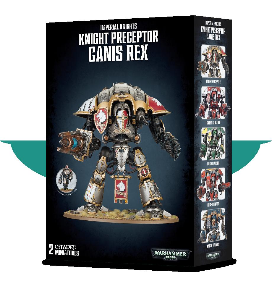 Imperial Knight Preceptor Canis Rex