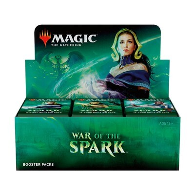 MtG: War of the Spark Draft Booster Box