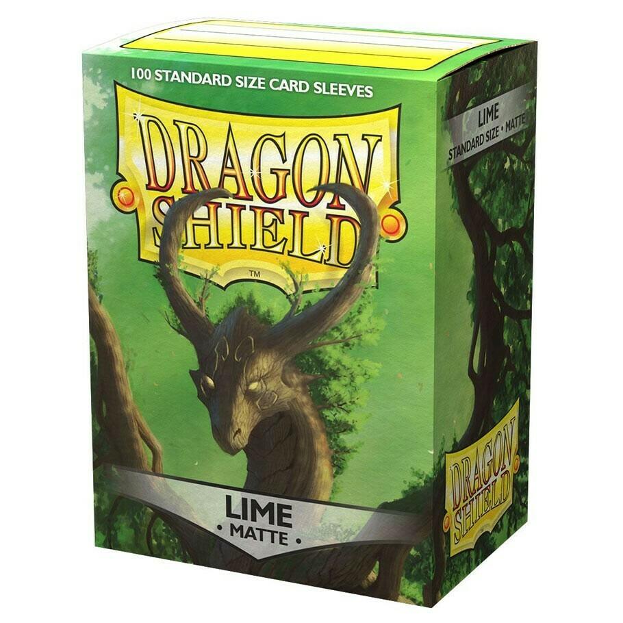 SLV: Dragon Shield Matte Lime (100)