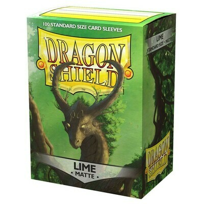 SLV: Dragon Shield Matte Lime (100)