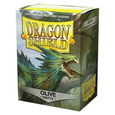 SLV: Dragon Shield Matte Olive (100)