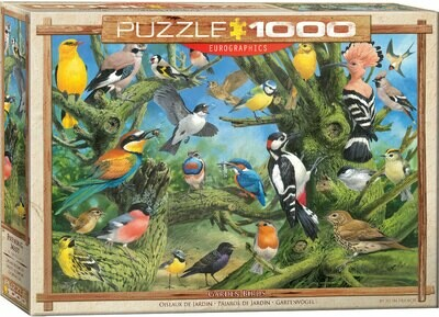 Garden Birds by Joahn Francis