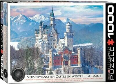 Neuschwanstein Castle in Winter