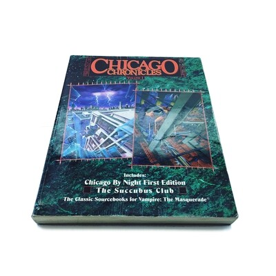 Vampire the Masquerade: Chicago Chronicles vol 1 (used)