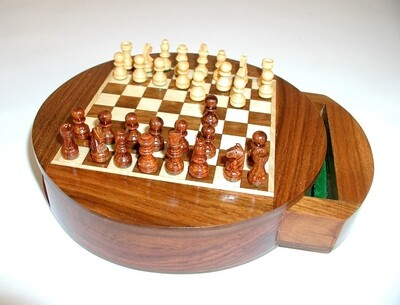 Chess Set Wood 6