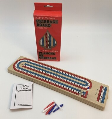 Cribbage: Travel Plastic Folding