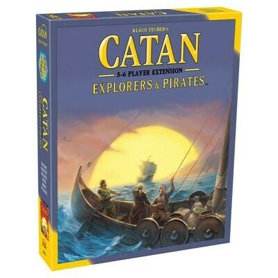 Catan: Explorers & Pirates 5 - 6 Player Ext