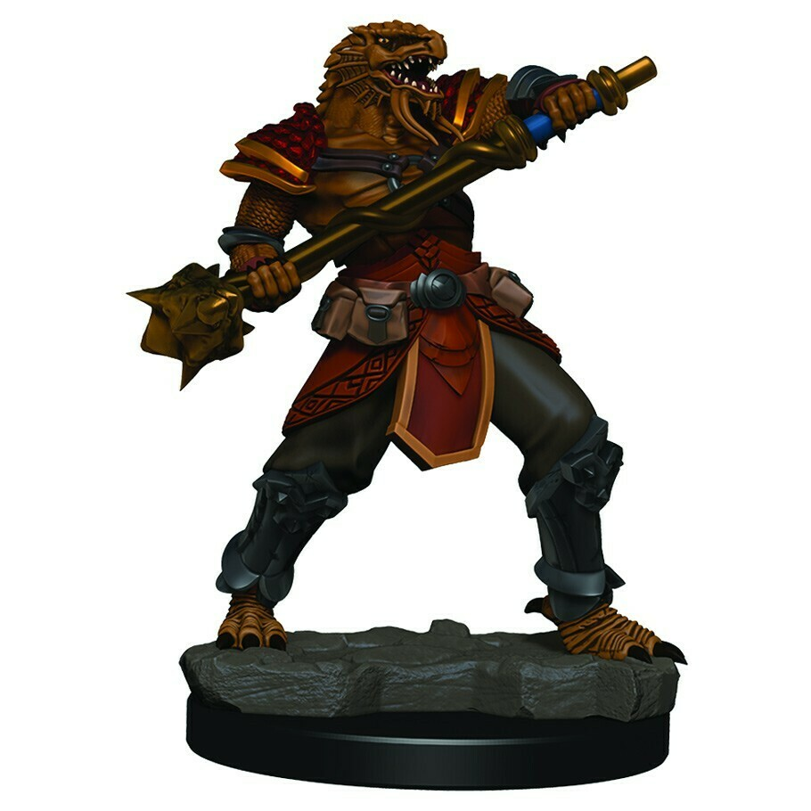 Icons of the Realm Premium: Male Dragonborn Fighter