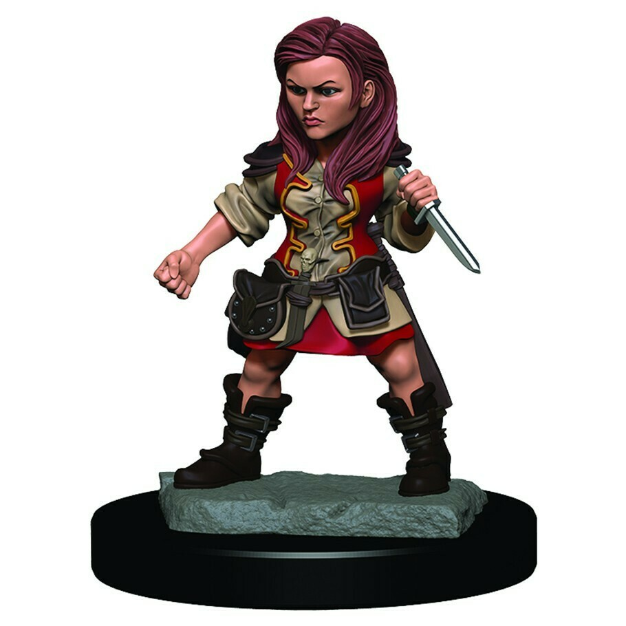 Icons of the Realm Premium: Female Halfling Rogue