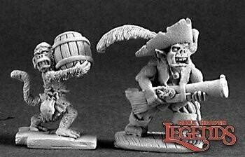 Goblin Pirate & Powder Monkey