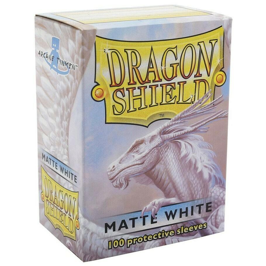 SLV: Dragon Shield Matte White (100)