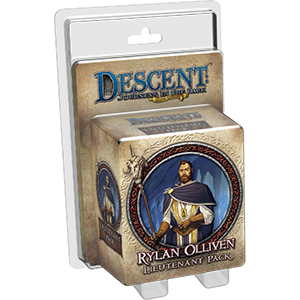 Descent: Lieutenant Pack: Rylan Olliven