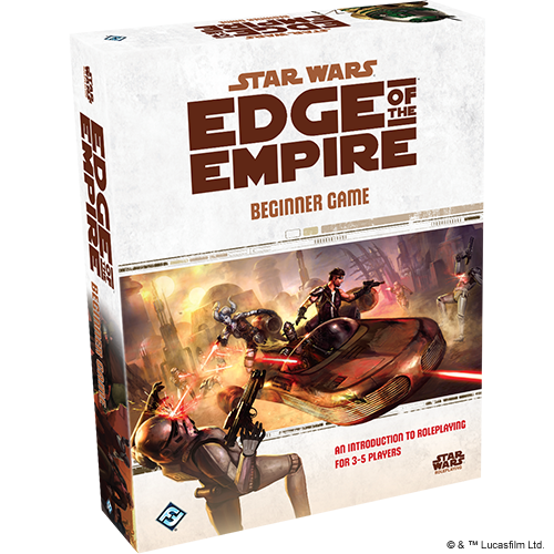 Star Wars RPG: Edge of the Empire Beginner Game