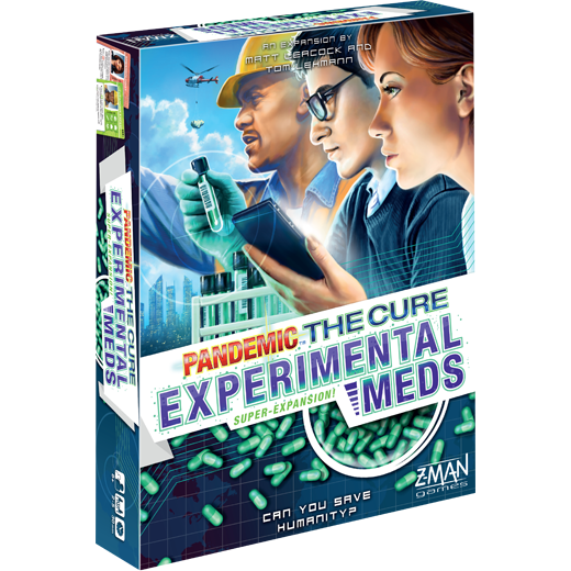 Pandemic: The Cure Expansion: Experimental Meds