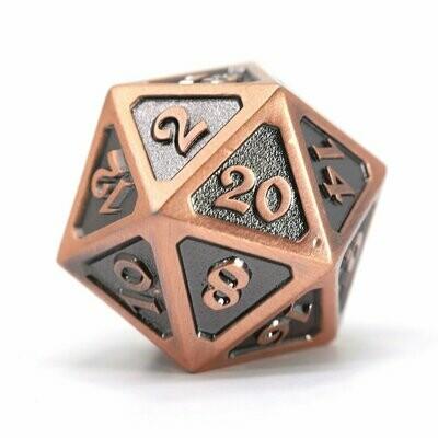 Dire d20: Mythica Battlworn Copper