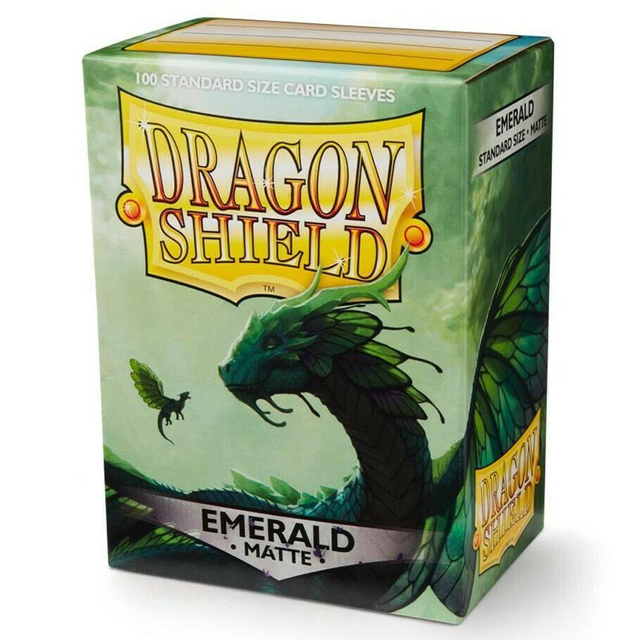 SLV: Dragon Shield Matte Emerald (100)