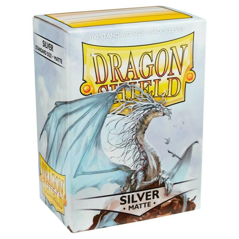 SLV: Dragon Shield Matte Silver (100)