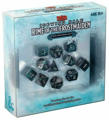 D&D: Icewind Dale Rime of the Frostmaiden Dice