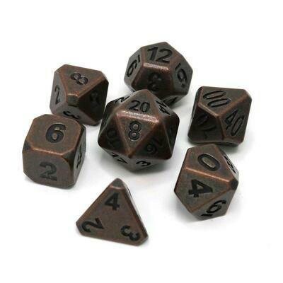 7 Die Metal Set: Forge Ancient Copper