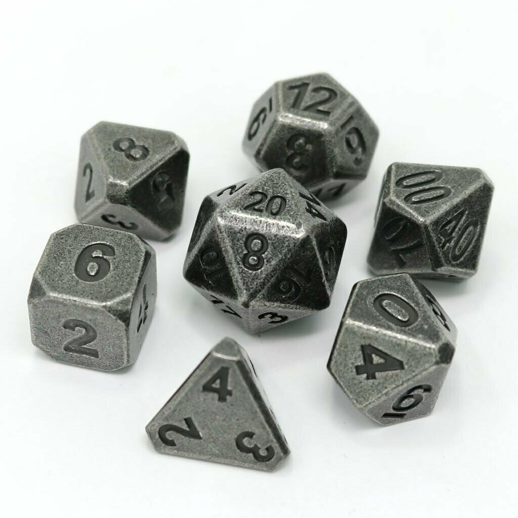 7 Die Metal Set: Forge Ancient Silver
