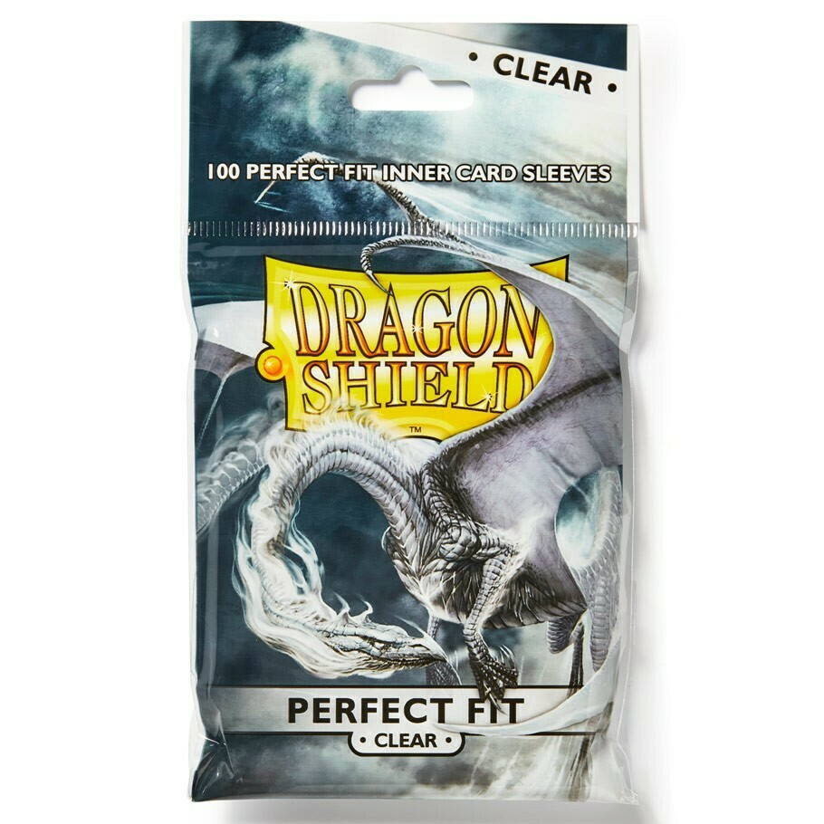 SLV: Dragon Shield: Perfect Fit: Clear (100)