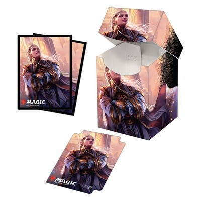 Combo Box: MtG: Pro 100+ with Sleeves: Commander Legends Rebbec, Architect of Ascension