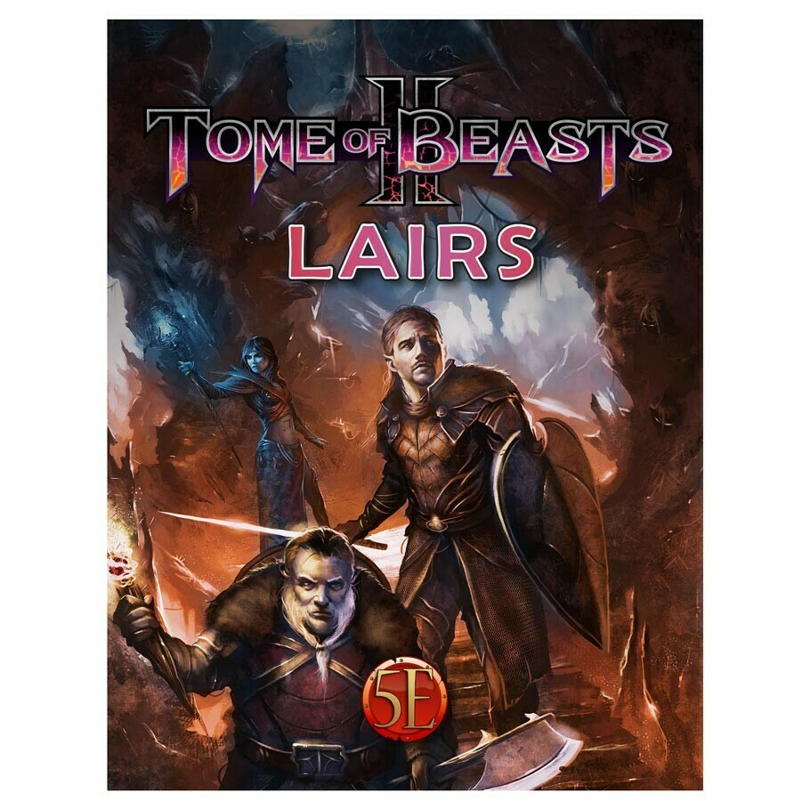 5e: Tome of Beasts II: Lairs