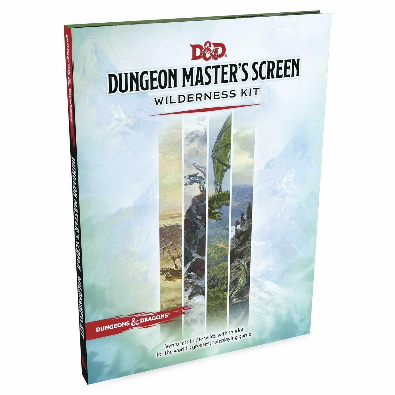D&D 5e: Dungeon Master's Screen Wilderness Kit