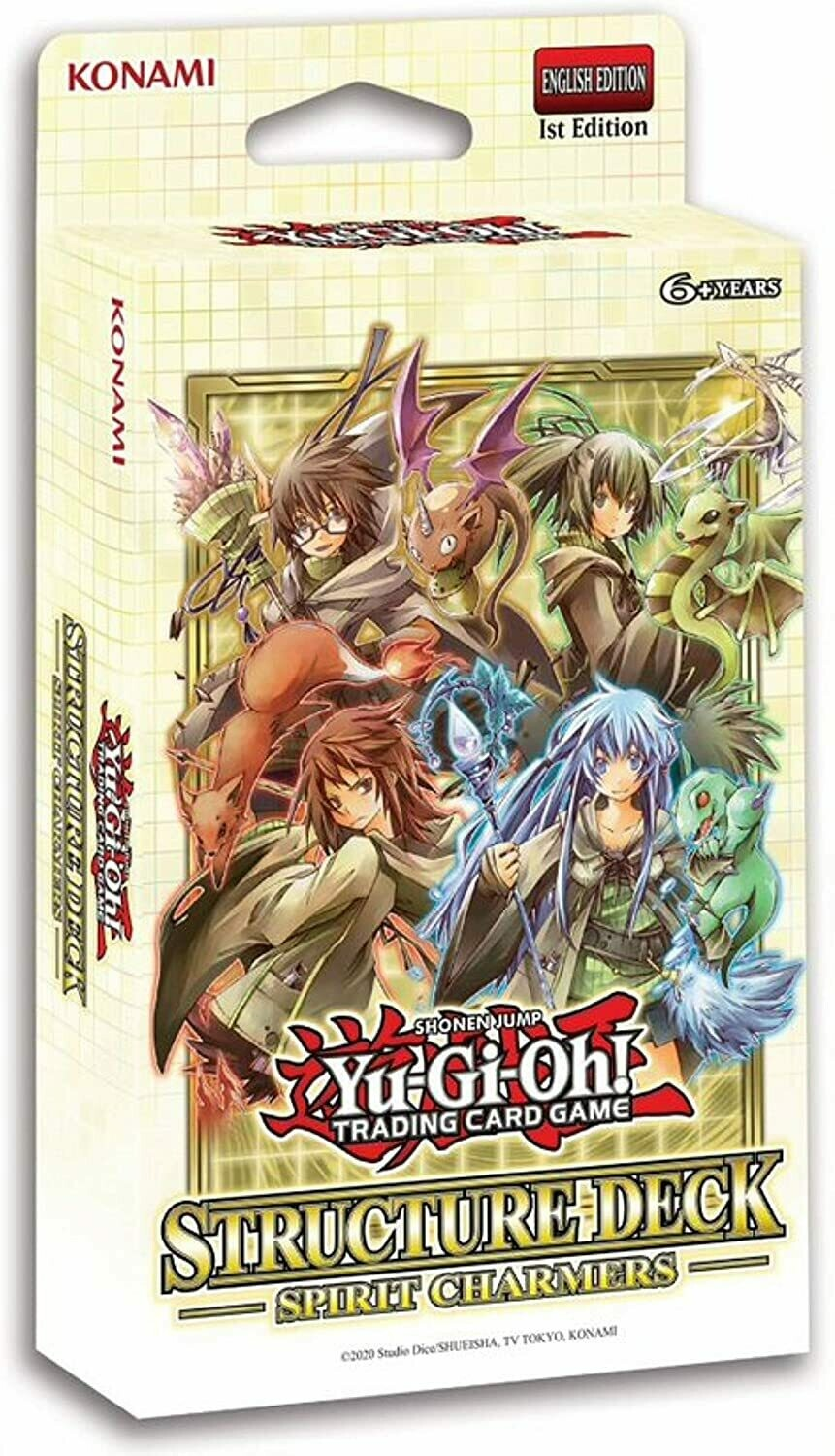 Ygo: Structure Deck: Spirit Charmers