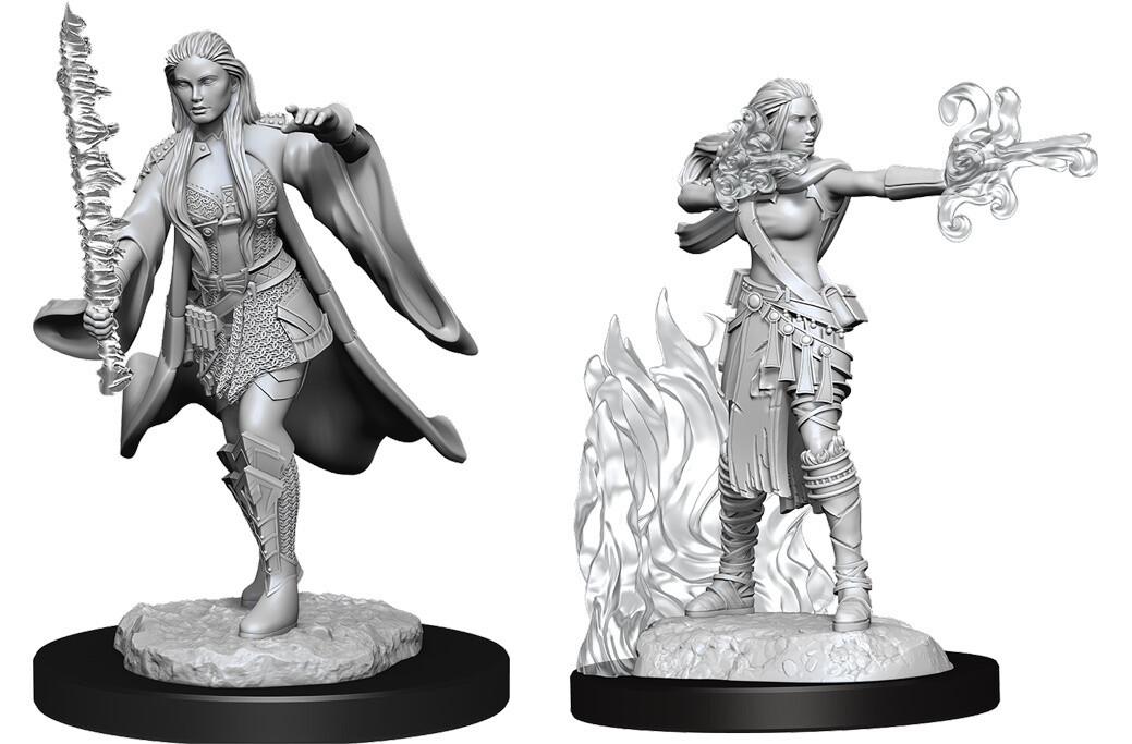 Female Warlock + Sorcerer W13